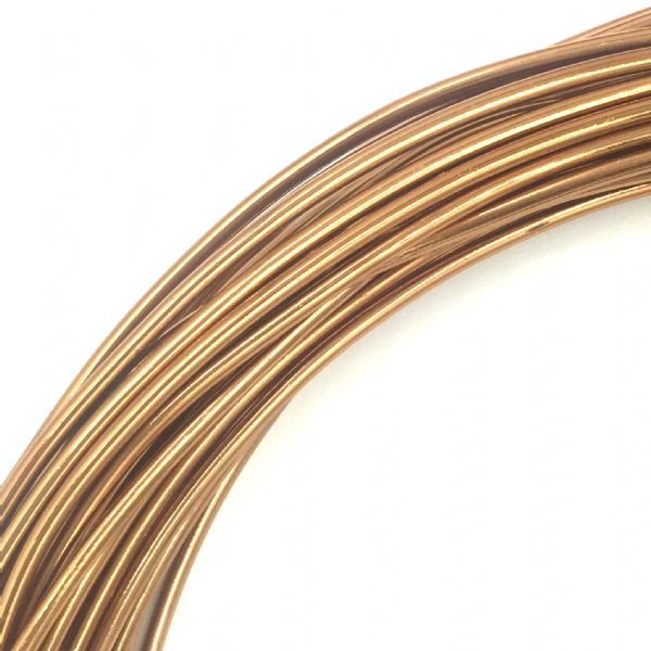 Aluminium wire - 10 metre coil - thickness 1mm - colour brown